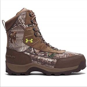 UNDER ARMOUR camouflage boots size 12 NWT